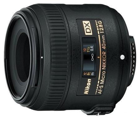 Nikon 40mm AF-S f/2.8G ED DX MICRO