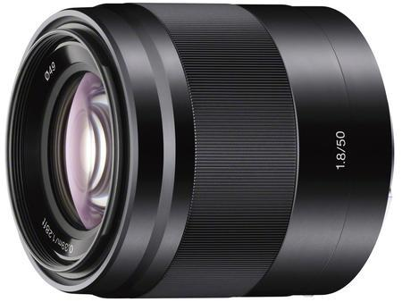 Sony E 50mm f/1,8 OSS Black