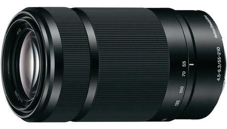 Sony E 55-210mm f/4.5-6.3 OSS Black