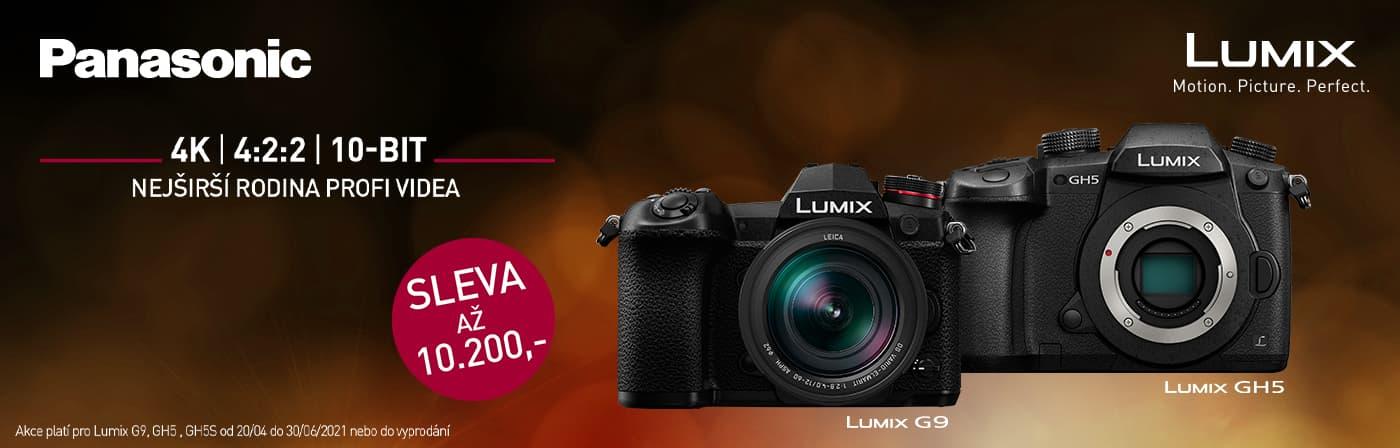 Panasonic LUMIX sleva az 10 200 Kc