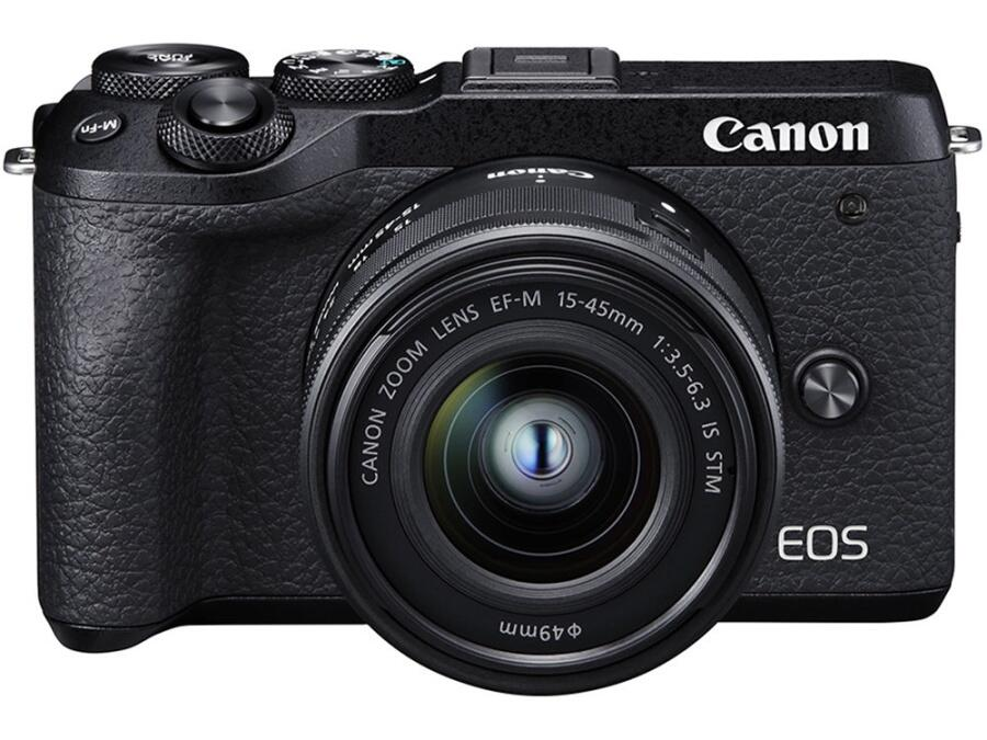 Canon EOS M6 mark II + 15-45mm STM